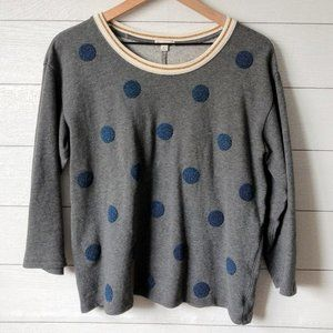 GAP Polka Dot Embellished Sweatshirt M